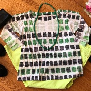 🌺 Nally & Millie PRETTY 3/4 Sleeve Tee Misses XL!